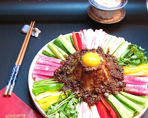 大团圆——酱香时蔬土豆泥的做法