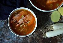 萝卜丝虾汤的做法