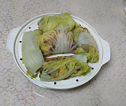素裹白菜卷的做法