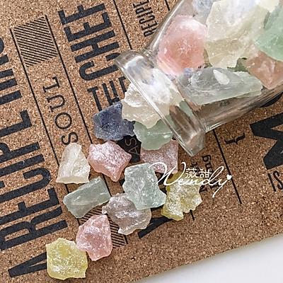 外脆内软的矿石糖