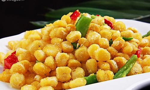 金沙玉米的做法的做法