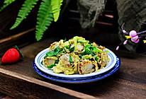 #春天肉菜这样吃#扇贝肉鸡蛋韭菜小炒的做法