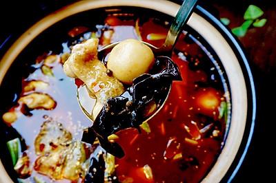 泡椒芋儿鲢鱼锅