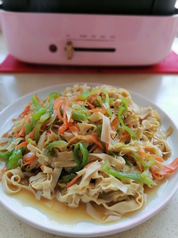 :尖椒干豆腐的做法