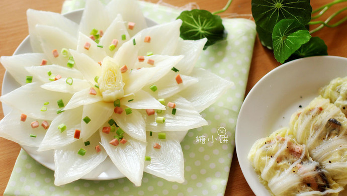 【莲花白菜包】白菜的三种形态