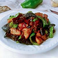 豆豉蚝黑青椒鸡