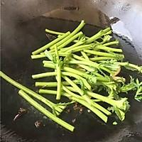 素炒茼蒿的做法图解3