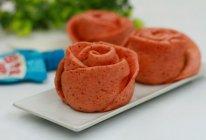 花生酱玫瑰花卷#趣味挤出来,及时享美味#的做法