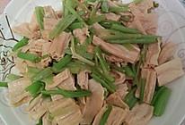 腐竹炒西芹的做法