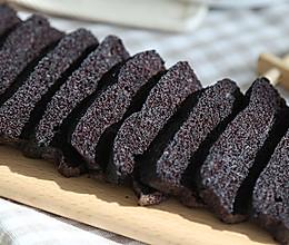 黑米蒸蛋糕 宝宝辅食微课堂的做法