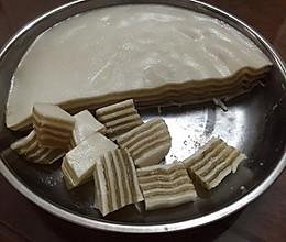 千层椰汁糕的做法