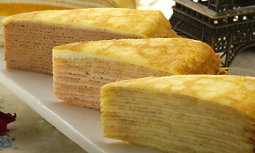 千层薄饼蛋糕的做法