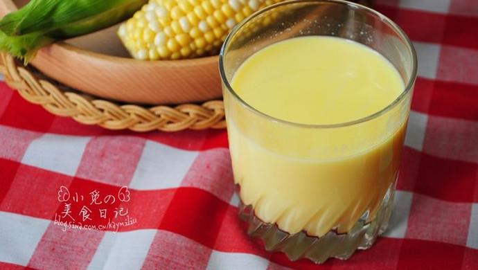 鲜奶玉米汁