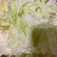 #快手又营养,我家的冬日必备菜品#板乌肉丝煨白菜的做法图解9