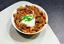 日式温泉蛋牛丼(jing)肥牛饭的做法