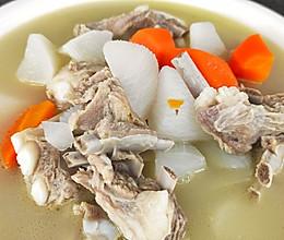清炖羊排,老爸的拿手菜,汤鲜味浓,羊肉软烂,连萝卜都非常好吃的做法
