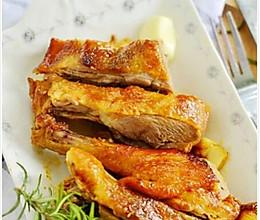 烤鸭肉的做法