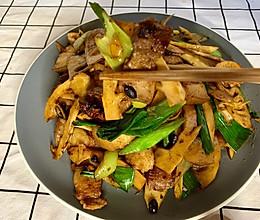 竹笋炒回锅肉,超香超完美的搭配!的做法