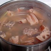 莲藕小排汤的做法图解5