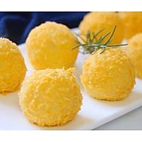 烤箱无油版-芝士土豆球的做法图解10
