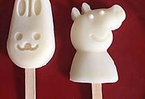 椰子奶棉花糖冰棍的做法