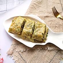 #春日时令,美味尝鲜#青稞韭菜卷
