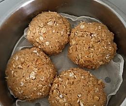 家庭版麦片红薯馒头的做法