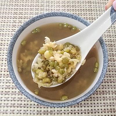 清热解暑绿豆粥