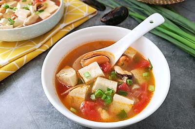 #520,美食撩动TA的心!#青口贝豆腐羹
