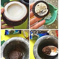 椰子冻盆栽--如何自制椰子冻的做法图解7