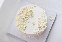 五瓣花小清新蛋糕的做法
