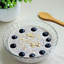 蓝莓燕麦酸奶