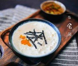 豆浆粥 日食记的做法