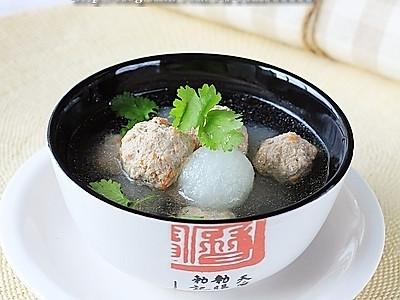 澳洲羊肉冬瓜丸子汤的做法
