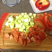 【快手】低卡意粉蔬菜沙拉——不输味道的低卡做法的做法图解3