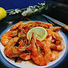 香柠油焖虾