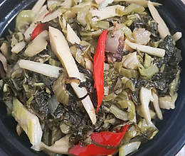 酸菜炒春笋(酸辣味)的做法
