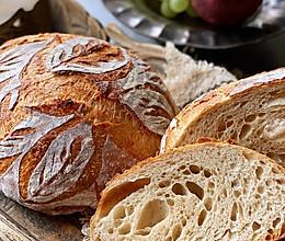 珐琅锅—乡村面包的做法