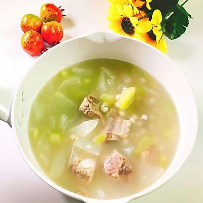 冬瓜薏米排骨  宝宝健康食谱