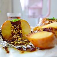 法式肉桂坚果烤苹果的做法图解10