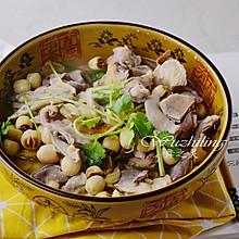 黄芪莲子猪肚汤