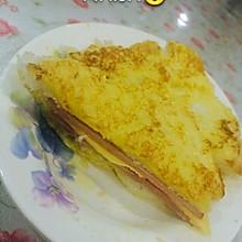 鸡蛋液三明治