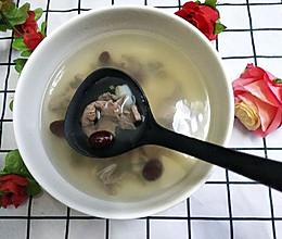百合红枣猪心汤的做法