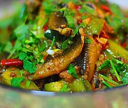 黄瓜烧野生鳝鱼的做法