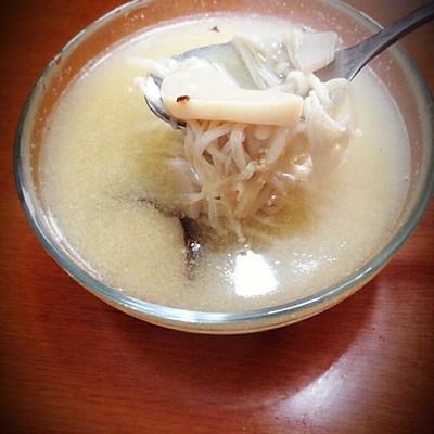 杂菌汤-素食版(不加高汤也一样鲜美)