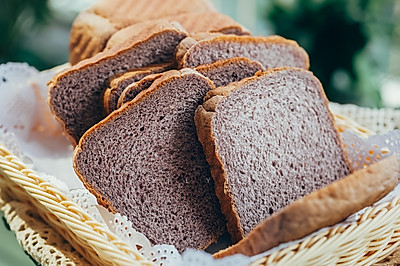 黑米吐司面包(一发)