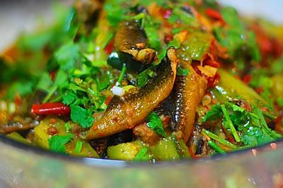 黄瓜烧野生鳝鱼