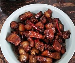 少油红烧肉。不放八角、桂皮。的做法