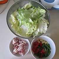 干锅圆白菜的做法图解1
