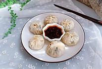 #秋天怎么吃#饺子皮版三鲜肉包的做法